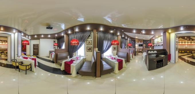 Смотреть виртуальный тур кафе Зарина
