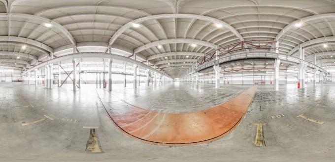 Производственное помещение большой площади
